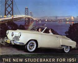 number fifty one with a bullet studebaker champion convertible