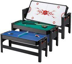 triumph sports 3 in 1 rotating game table triumph sports 84 inch 3 in 1 rotating air powered hockey billiards