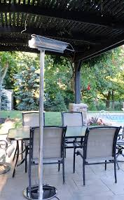 Outdoor Electric Heaters For Patios Aura Patio Plus Stainless Steel Infrared Patio Heater