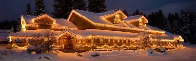 Christmas Lights On House by The Mccall Pancake House U2013 Mccall Idaho