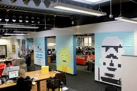 in an office far far away star wars post it murals ifunnybox star wars post it murals