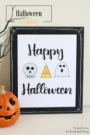 happy halloween free printable bombshell bling