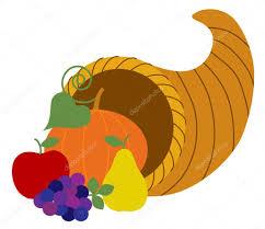 thanksgiving symbol cartoon autumn cornucopia symbol u2014 stock vector scrapster 108861020