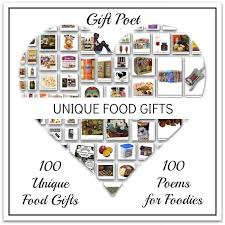 100 unique food gifts paired with foodie poems gift poet
