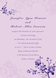 wedding invitations online simple purple floral wedding invites ewi016 as low as 0 94