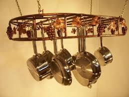 10 hanging pot and pan rack organizer rilane