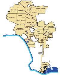 los angeles suburbs map la citywide alliance of neighborhood councils