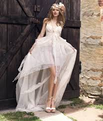 hippie wedding dresses hippie wedding dresses in casual is a lace dress with neckline v