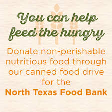 donate food for thanksgiving canned food drives canned food drive north texas food bank