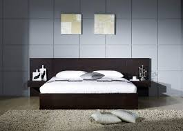 bedroom minimalist bedroom design with mahogany bed frame and