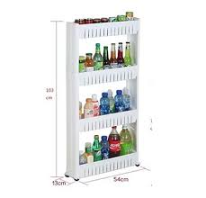 Plastic Bathroom Storage Okayji Plastic Bathroom Storage Rack Shelf 4 Tires White
