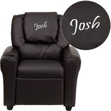 fun furnishings my comfy kids polyester chair in light gray