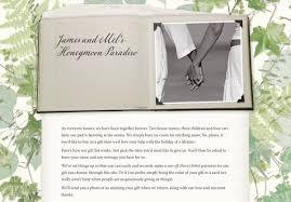 wedding gift honeymoon fund honeymoon wedding gift list uk imbusy for