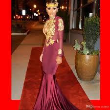 sale robe de soiree african dubai mermaid long sleeves