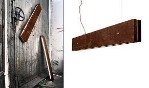 Wood Light Fixture Plank Light Fixture By Northern Lighting Retail Design