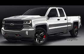 Chevy Silverado Truck Accessories - 2016 chevy silverado red line concept reveal gm authority