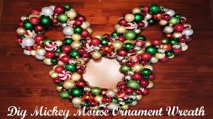 diy ornament mickey wreath ºoº