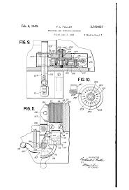 patent us2189027 printing and punching machine google patents