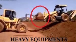 excavator accidents caught on tape heavy equipment excavator