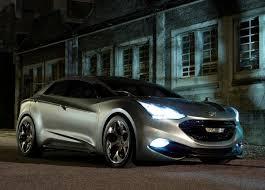 hybrid sports cars hyundai i flow concept diesel hybrid sports cars 14 jpg