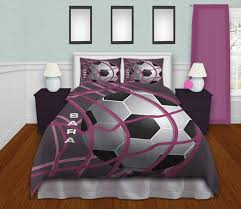 Girls Bedding Purple by Bedding Soccer Soccer Bedding For Girls Teen Bedding Purple