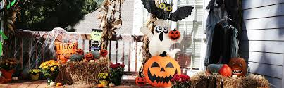 outdoor halloween decorations halloween decorations the home depot