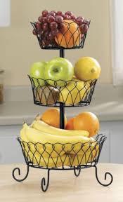 tiered fruit basket black tiered fruit basket kitchencorner us