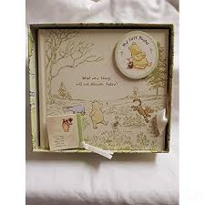 winnie the pooh photo album winnie the pooh babys 1st photo album comes in box approx 18x17