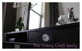 ikea desk turned vanity the crazy craft lady