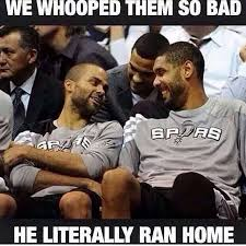 Spurs Memes - san antonio spurs meme why lebron went to cleveland sports