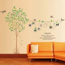 wall decor sticker frames wall decor sticker frames frame tree vinyl wall decals for living room download