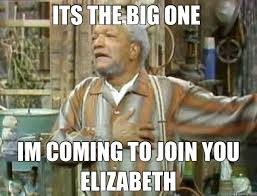 Aunt Esther Meme - sanford and son tv show its the big one i m coming to join you