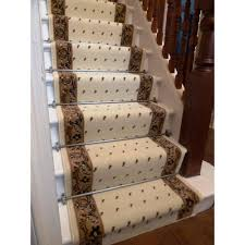 stair treads rugsarpet elegant withlassic pattern for floor indoor