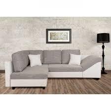 canapé gris et blanc pas cher canapé d angle convertible blanc gris acheter moins cher