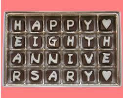 eighth anniversary gift eighth anniversary etsy