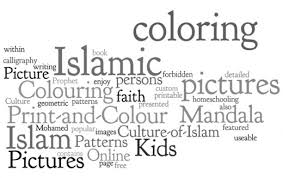 colouring pages quran scholarly teacher coloring