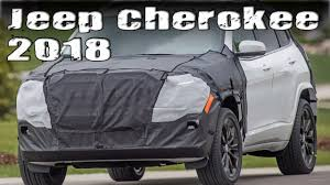 jeep wagoneer 2018 new 2018 jeep cherokee prototype facelift youtube