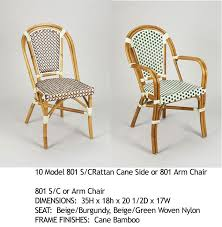 best rattan bistro chairs 2010 apartment therapy