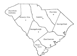 county map of sc 1800 union county census of south carolin1