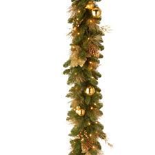 battery garland wreaths garland the