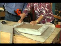 how to make an upholstered headboard avi youtube