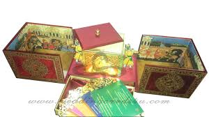 indian wedding card indian doli wedding box all colors of indian wedding card