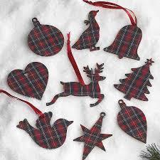 What Is A Tartan Tartan Christmas Tags Tartan Christmas Tartan And Wooden Gifts