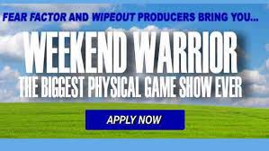 producers of u201cwipeout u201d casting new show u201cweekend warrior