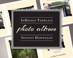 indesign wedding photo album template 10x10 inch for