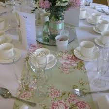 shabby chic table runner hire floral table runner hire 2 5m for weddings and wedding