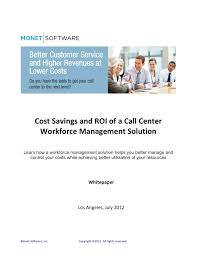 how to calculate the cost savings and roi of workforce management