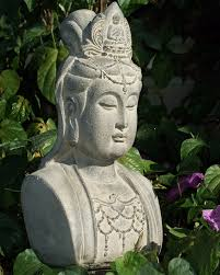 kuan yin statue 12 inches the buddha garden