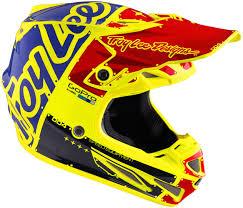 motocross helmet designs troy lee designs se4 factory carbon yellow motocross helmets