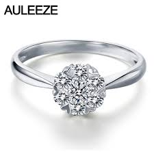 natural engagement rings images Auleeze snowflake halo heart prong 0 25cttw natural diamond real jpg
